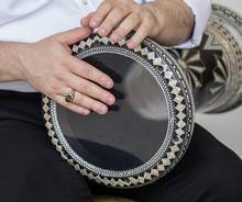 Musicians Play Arabic Instruments