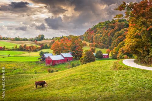 Foto  Farmland in Vermont