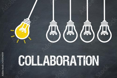 Collaboration Canvas Print