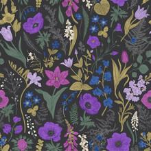 Spring Magic. Seamless Pattern...