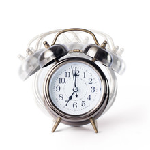 Retro Alarm Clock With Bell, T...