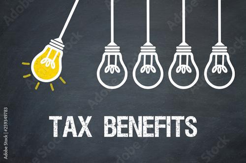 Tax Benefits Canvas Print