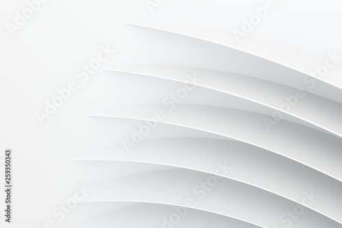 3d rendering, curve surface and texture background Wallpaper Mural