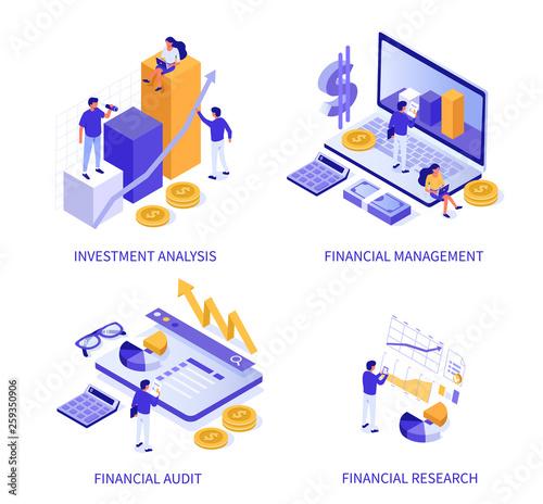 Fototapeta financial obraz