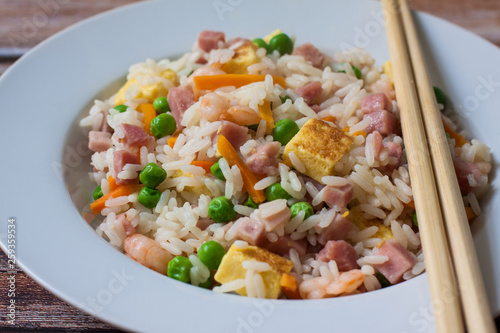 chinese fried rice Canvas Print