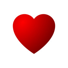 Red To Red Heart Icon