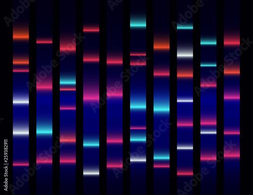 Fotografie, Tablou  Colourful medical dna