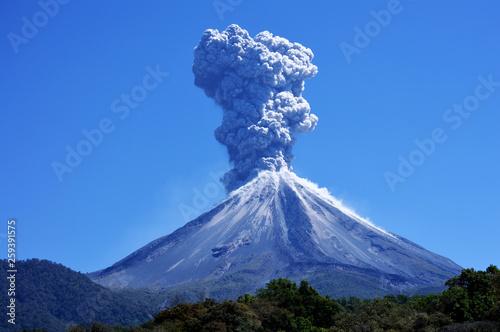 Wybuch wulkanu