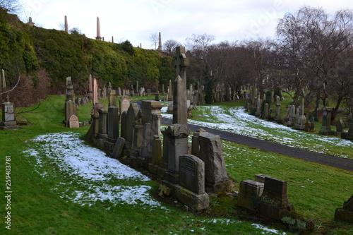 Keuken foto achterwand Glasgow Cemetery