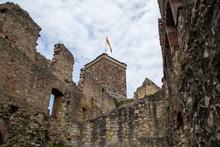 Roetteln Castle In Loerrach, Germany