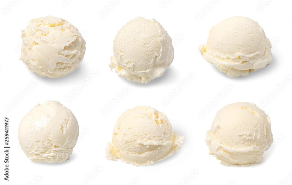 Fototapety, obrazy: ice cream ball
