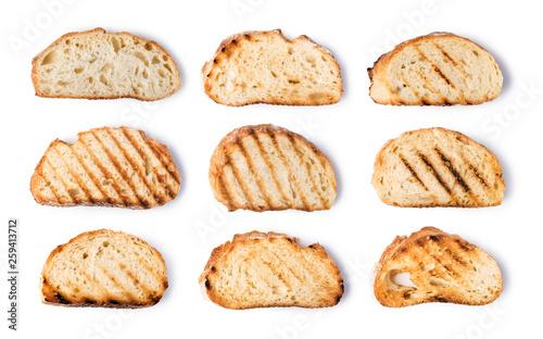 Canvas slices toast bread