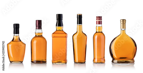 Keuken foto achterwand Alcohol whiskey bottle