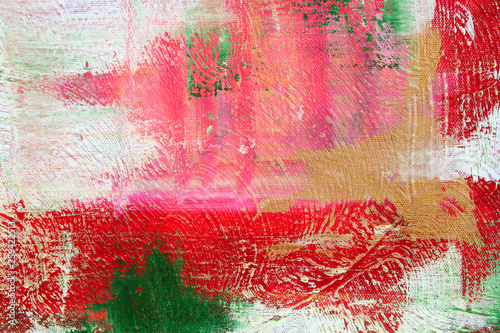 oil on canvas, abstract artwork as background