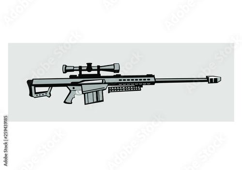 Fotografija Barrett M82 antimaterial sniper rifle