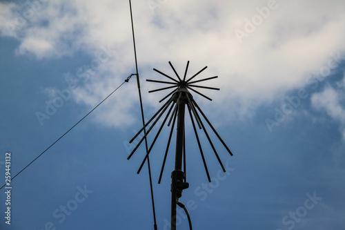 Fotografiet  Old antenna detail