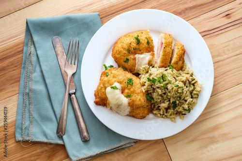 Photo  Chicken Cordon Bleu Rice