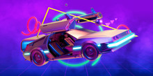 Future Car, Retro 80th