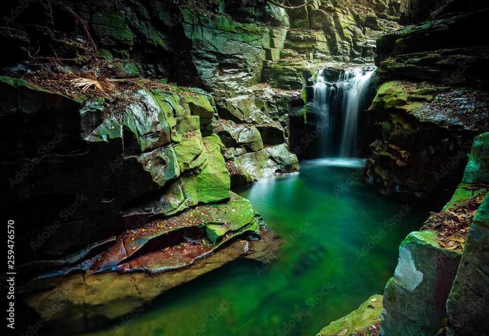 Fototapety, obrazy: Waterfall in Macquarie Pass Australia