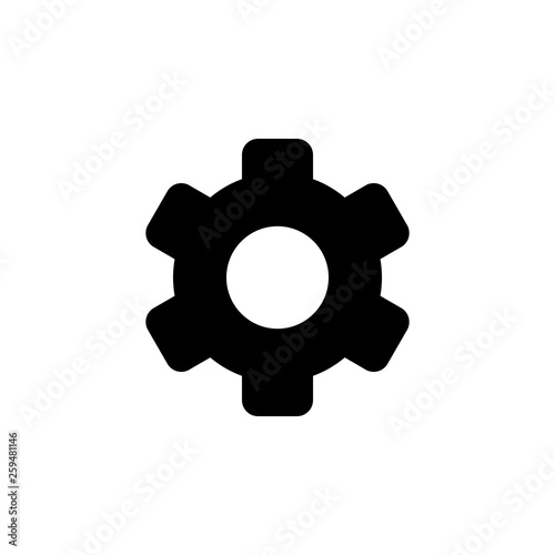 Setting Icon  Setting vector icon  Cog Settings Icon Symbol