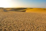 Fototapeta Natura - Gran Canaria island landscape of sand on beach