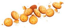 Falling Broken Chip Cookies Is...