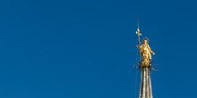 Madonnina Golden Statue Of Vir...