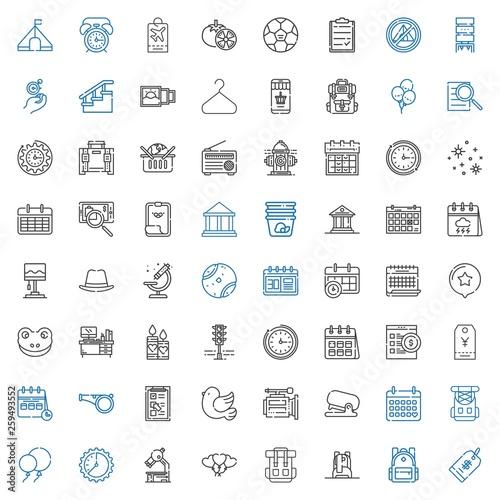 Fotografie, Obraz  single icons set