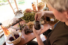Herbalist Small Business Owner