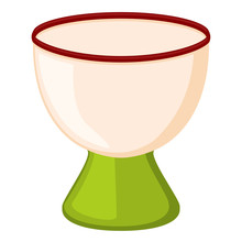 Colorful Cartoon Empty Egg Cup