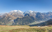 Looking Over Towards Mont Blan...