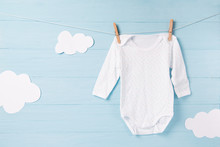 Baby Clothes And White Clouds ...