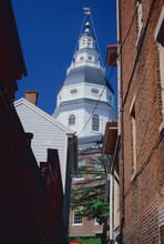 Maryland State House In Annapo...