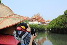 Asia Temple Boat Ride
