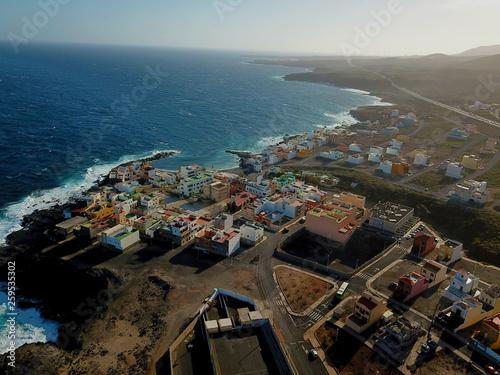 Wall Murals Canary Islands Teneriffa aus der Luft