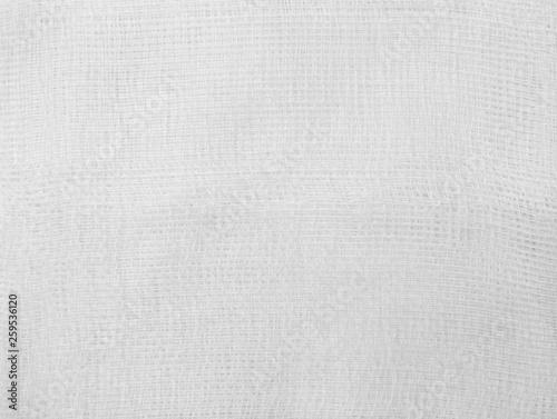 Canvas-taulu white bandage texture