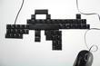 Tastatur als Sturmgewehr