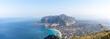 Golfe de Mondello et Monte Pellegrino, Palerme, Sicile