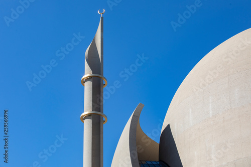 Fotografia, Obraz  Moschee, Zentralmoschee in Köln Ehrenfeld