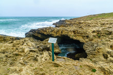 The Blue Cave In Dor HaBonim B...
