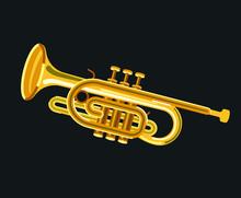 Musicial Instrument Cornet
