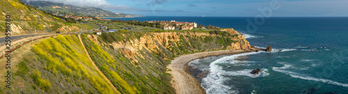 Papiers peints Miel Pelican Cove Super Bloom Panorama