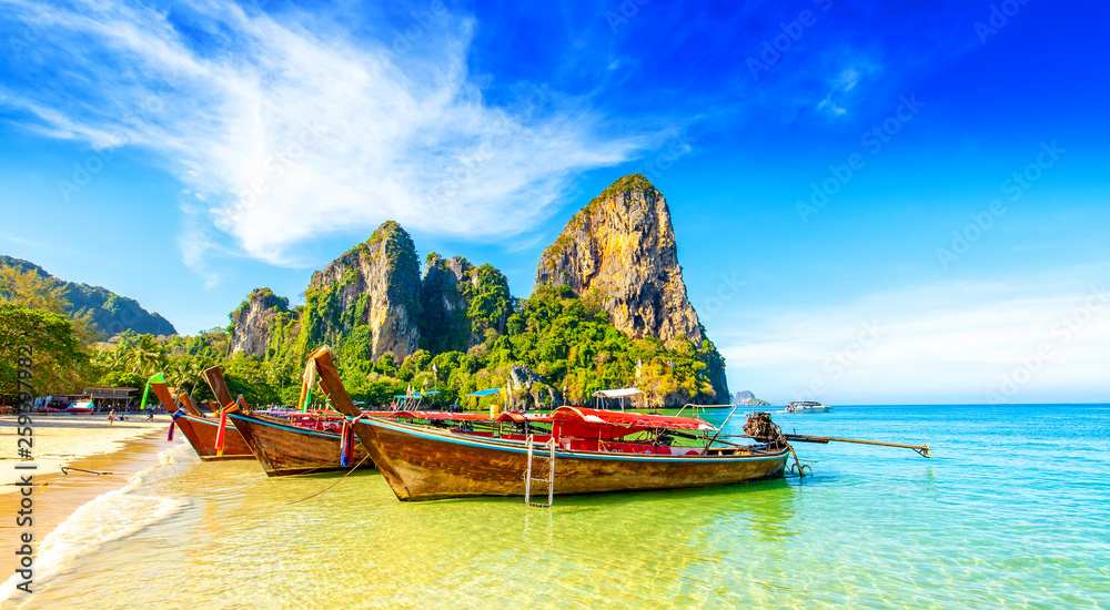 Fototapety, obrazy: Railay West Beach in Thailand