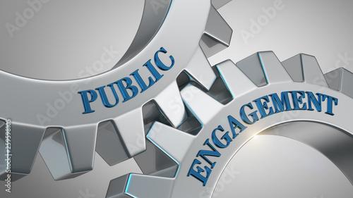 Fotografie, Obraz  Public engagement concept