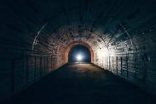 Dark Creepy Abandoned Undergro...