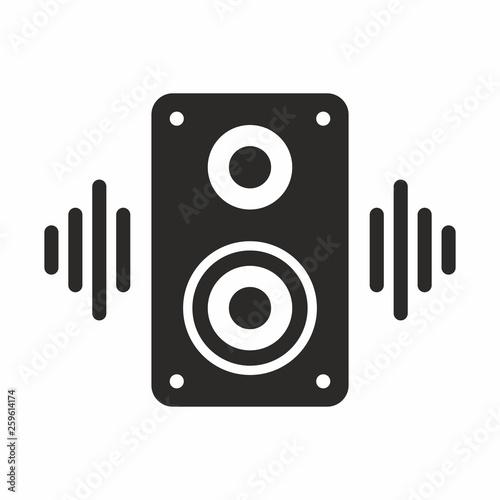 Fotografie, Obraz Music speaker icon