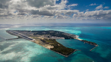 Midway Atoll National Wildlife Refuge And Battle Of Midway National Memorial, Part Of Papah?naumoku?kea Marine National Monument. Located In The Northwest Hawaiian Islands, Though Not Part Of The State Of Hawaii. Sand Island Is Pictured.