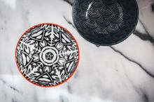 Pretty Decorated Ceramic Bowl