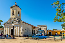 Center Square Of Cuban Town Wi...