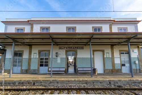 Fotografía  Portuguese train station